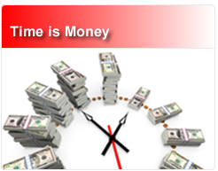 Time is Money Graphic